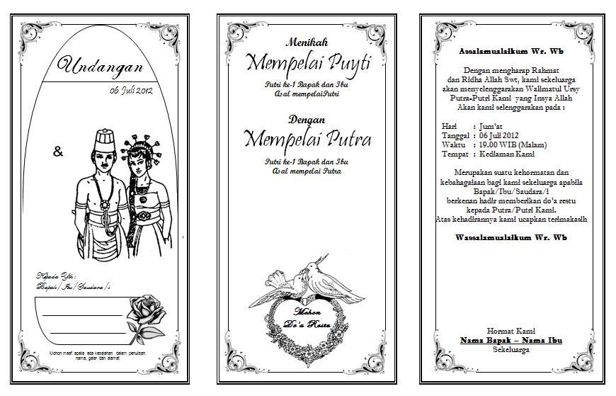 Undangan Pernikahan | ISMAIL LAHINTA
